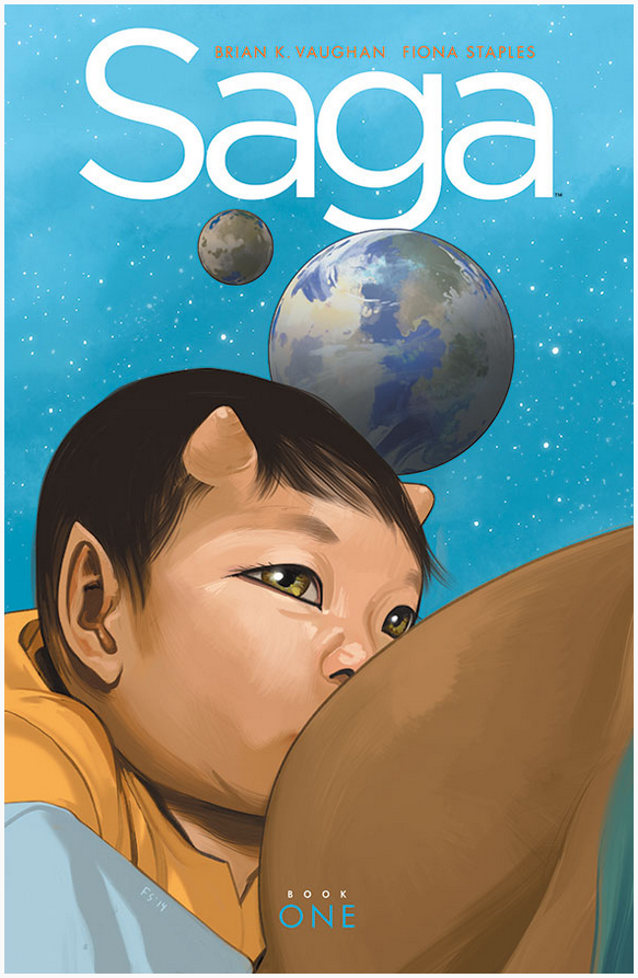 Saga: Book One Cover